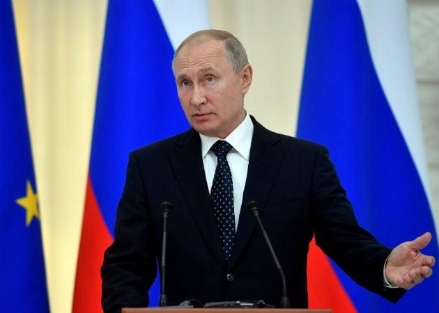 El Kremlin negó que haya necesidad para una declaración al respecto del presidente ruso, Vladímir Putin. Fotos: EFE.,