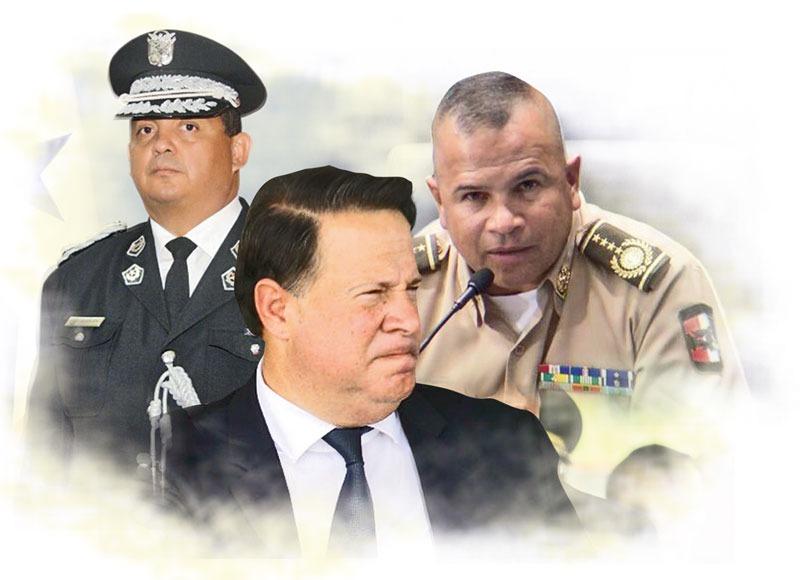 Informe reveló un supuesto plan para reemplazar al actual director de la Policía Nacional, Jorge Miranda.