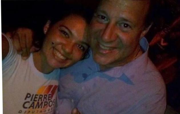Ilicena Malek hizo campaña a favor del expresidente de la República Juan Carlos Varela, candidato que apoyó Movin.