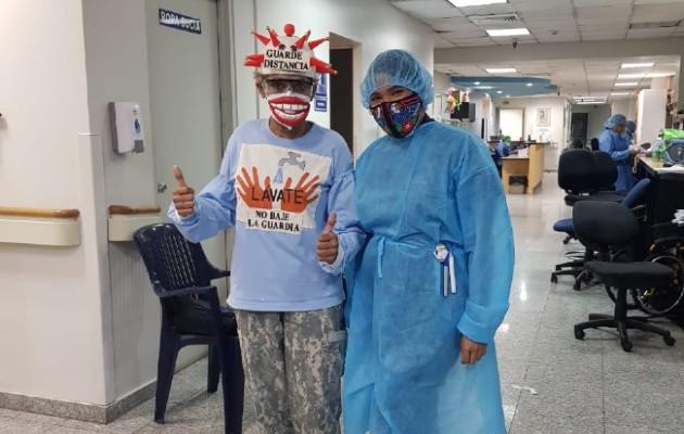 En el ION, donde tomó sus radioterapias. (Foto: Cortesía)