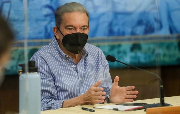 Laurentino Cortizo dijo que sancionará el anteproyecto de ley si la Asamblea lo aprueba.