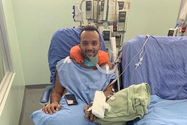Abdiel Amor ingresó a la Unidad de Cuidados Intensivos el 1 de junio.