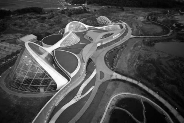 El proyecto que se vislumbra en la gráfica es Ecorium, el parque ecológico de Corea del Sur. Es un ejemplo de lo que se puede trabajar. Fotos: Cortesía del autor.