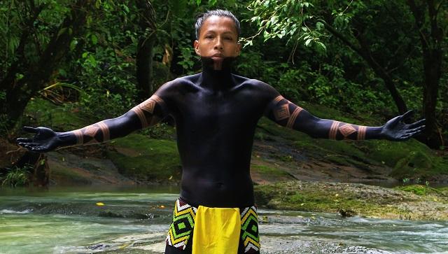 Elio Cunampio se dedica al rescate de la cultura Emberá. Foto: Elio Cunampio