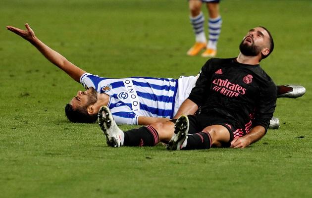 Real Madrid no estuvo fino al arco.