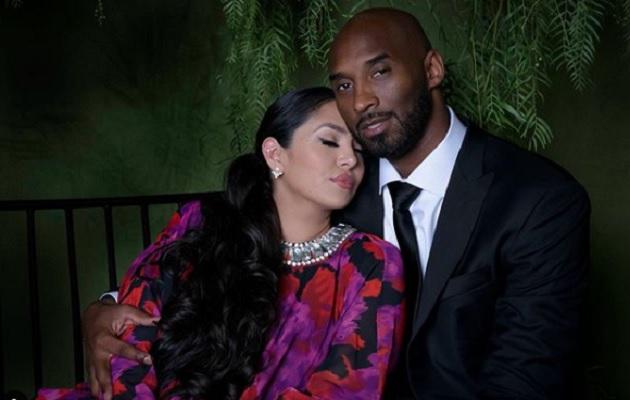 Vanessa y Kobe Bryant.
