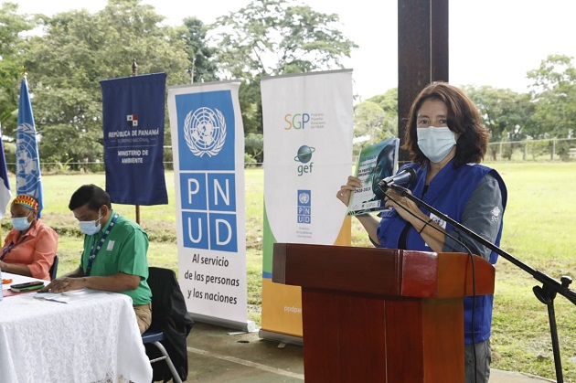 Beatriz Schmitt es la coordinadora nacional del Programa de Pequeñas Donaciones. Foto cortesía PNUD