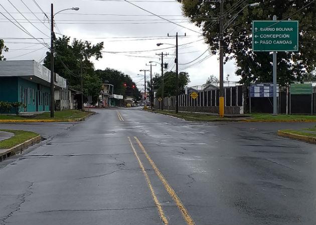 El toque de queda total el sábado y domingo se mantiene este fin de semana en Chiriquí. Foto: José Vásquez.