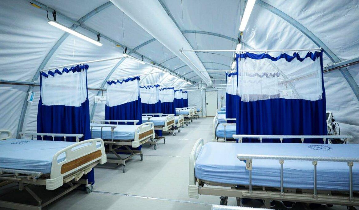 Hospital campaña.