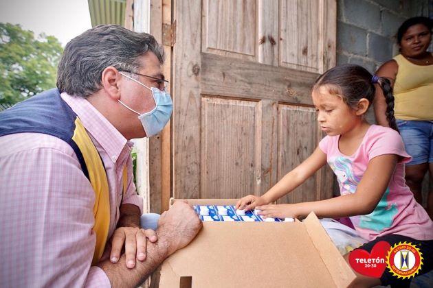 Este año en medio de la pandemia de la COVID-19 la Teletón 20-30 tiene como objetivo ayudar a los niños y jóvenes con discapacidad afectados por esta enfermedad.