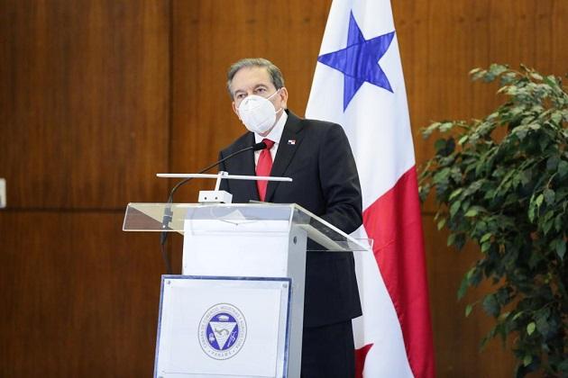 El Presidente Laurentino Cortizo dijo que el proyecto quedaba