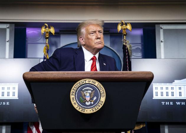 Trump retuiteó una información que aseguraba que este viernes sería el anfitrión del Show de Rush Limbaugh. Foto: Archivo/Ilustrativa.