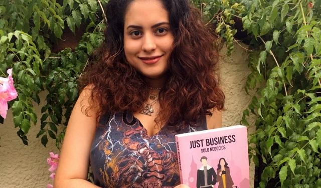 Mayra De Gracia, de 22 años, publicó su primera obra titulada