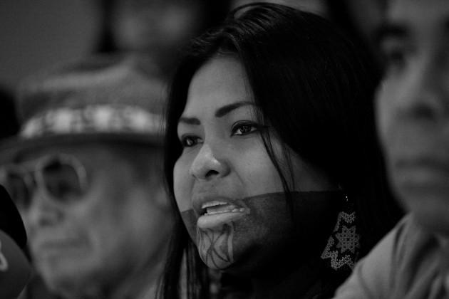Los indígenas están exigiendo sus derechos para mantener vivas sus raíces más profundas. Foto: EFE.