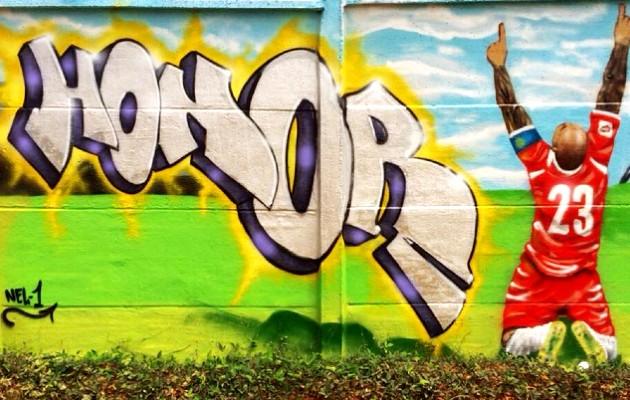 Grafiti por Nel One . Foto / Panamá Graffiti.