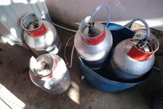 Las multas impuestas por el uso indebido del tanque de gas de 25 libras es el resultado de las constantes verificaciones realizadas por la Acodeco. Foto/Cortesía