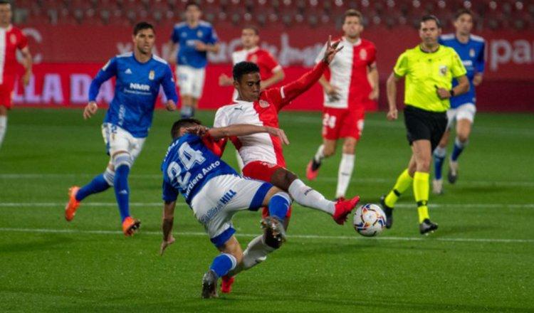 Yoel Bárcenas firmó con el Girona este mes.
