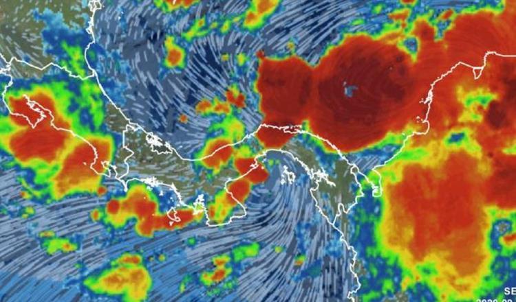 Los acumulados de lluvia se incrementan durante el paso de las ondas y generan inundaciones en el área del Pacífico.