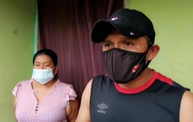 Los familiares piden al Ministerio Público que investiguen este hecho. Foto. Mayra Madrid.