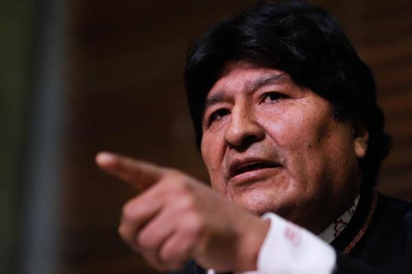 El lunes de esta semana, Morales dijo en una rueda de prensa que