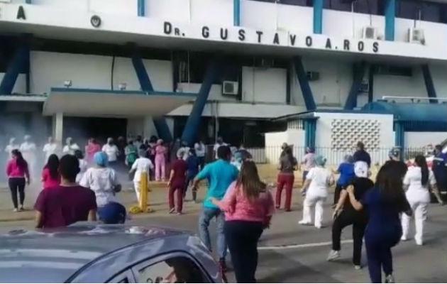 El vídeo que ha circulado en redes sociales ha despertado opiniones de admiración a este grupo. Foto: Mayra Madrid.