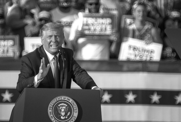 Trump, en Florida, dijo que está