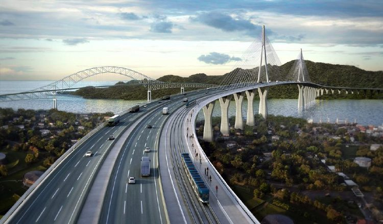 El ministro Héctor Alexander dijo que como está configurado ahora el proyecto de pasar por un túnel, el momento optimo para iniciar la construcción del cuarto puente no es ahora. Foto/Archivo