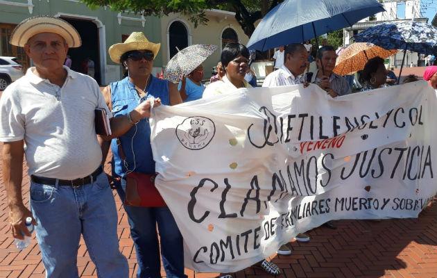 Afectados han realizado varias protestas
