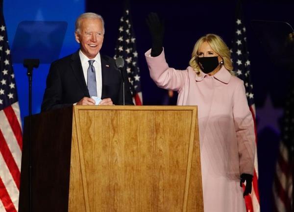 El candidato demócrata Joe Biden, pidió