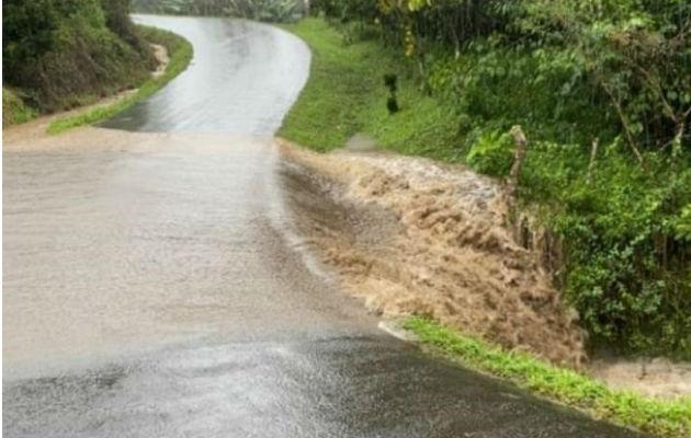 Corriente del río Divalá, a la altura de la toma de la planta potabilizadora de este corregimiento en Alanje. Foto: José Vásquez