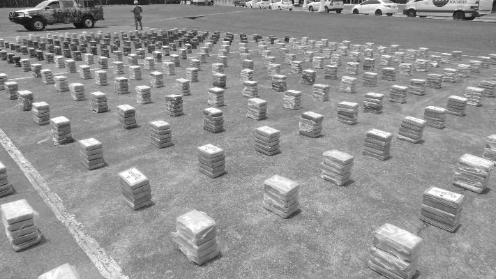 Panamá es un paso obligado para gran parte de la droga que va hacia Norteamérica y Europa. Foto: Leandro Ortíz. Panamá América.