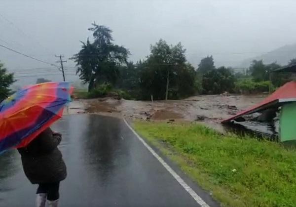 Las lluvias han provocado inundaciones en la provincia de Chiriquí.