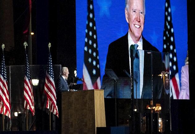 La campaña del candidato demócrata Joe Biden reaccionó a las extraordinarias declaraciones de Donald Trump.