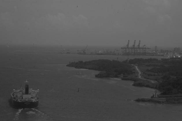 El calentamiento oceánico tiene un enorme impacto sobre la vida, las rutas marinas, y un peligro inminente para los países ribereños, como Panamá. Foto: Víctor Arosemena. Epasa.