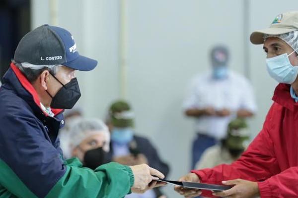 Las declaraciones del mandatario se dieron en la provincia de Chiriquí, en medio de un encuentro que sostuvo con productores agropecuarios.