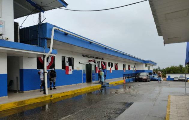 El hotel de ocasión está ubicado en Cativá. Foto: Diómedes Sánchez S.