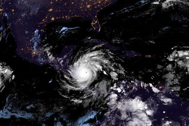 Iota es el huracán más potente que se registra en la historia de Nicaragua. Foto: EFE