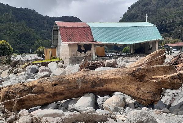 Chiriquí fue una de las provincias más afectadas por Eta y Iota.
