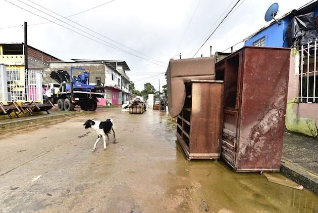 Aunque Iota perdió fuerza rápidamente tras tocar tierra en Nicaragua, los daños ya son cuantiosos.