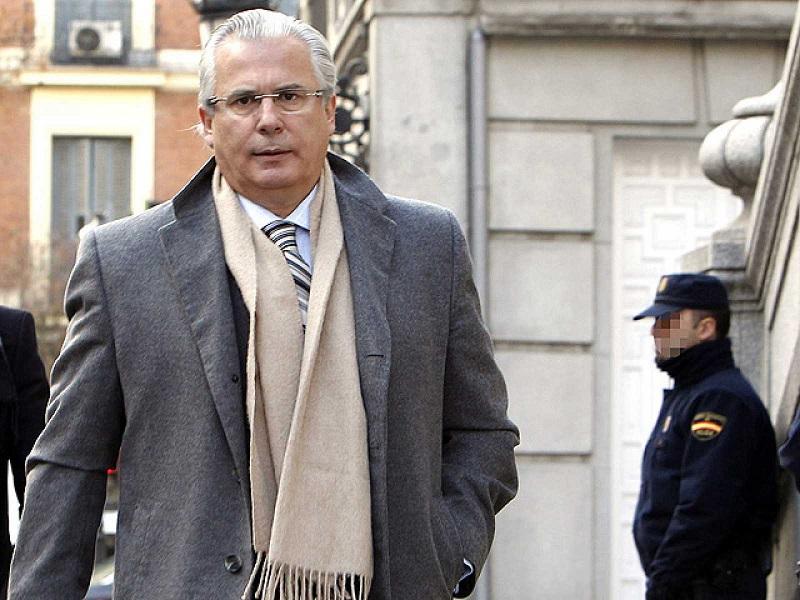 Baltazar Garzón, ex juez de la Audiencia Nacional en España.