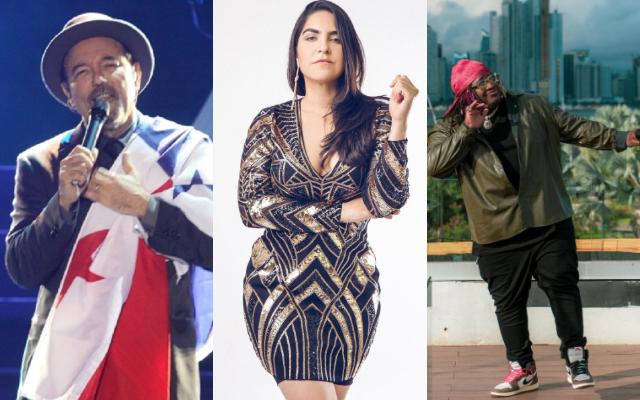 Rubén Blades, Grettel Garibaldi y el Sech se perfilan para llevarse un gramófono. Foto: Instagram