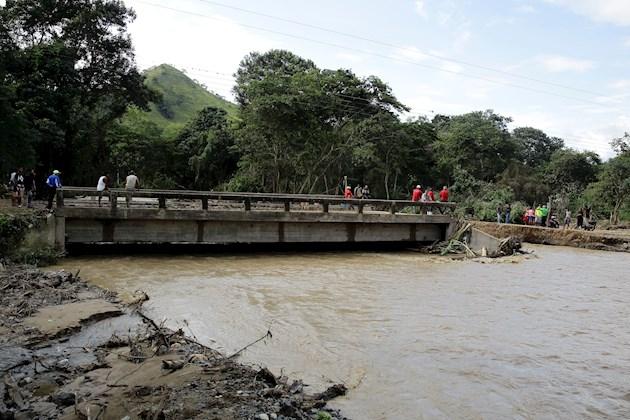 Las autoridades continúan con el monitoreo de diversos ríos, incluido el Motagua, que cruza el país y que en los últimos dos días había aumentado su nivel.