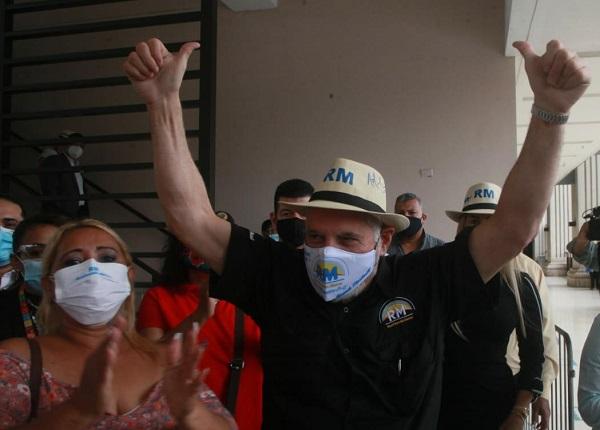 Ricardo Martinelli es el líder del partido Realizando Metas. Foto: Víctor Arosemena
