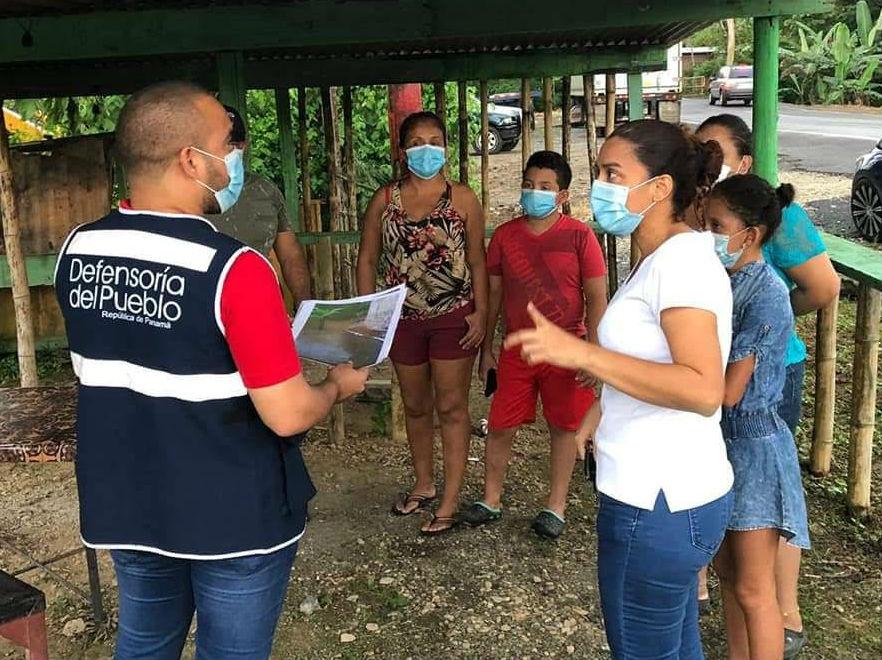 Los moradores de Gatuncillo esperan se les brinde una solución. Foto: Diómedes Sánchez S.