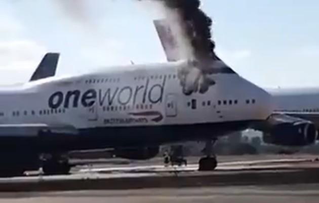 El fuego fue sofocado con éxito por los bomberos del aeródromo, quienes reportaron que nadie se encontraba dentro del avión por lo que nadie resultó con heridas.
