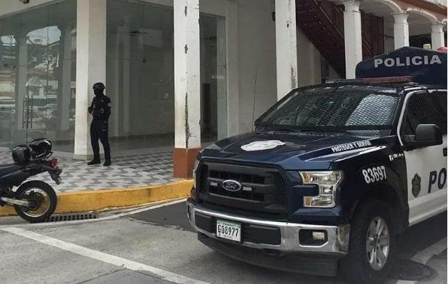 La madre de la niña interpuso la denuncia ante el Ministerio Público en Colón. Foto: Diómedes Sánchez S.