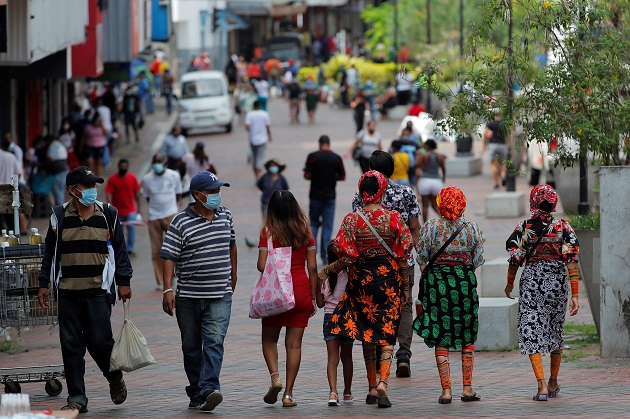 En el territorio panameño se registran 16.293 casos activos de coronavirus. Foto: EFE