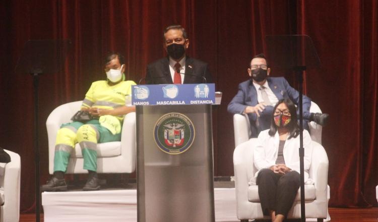 El lanzamiento del Pacto del Bicentenario se realizó en el Ateneo de la Ciudad del Saber, en Clayton. Foto de Víctor Arosemena