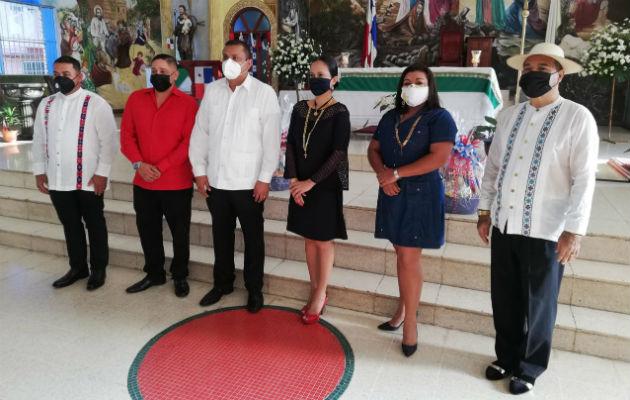 Las autoridades solo participaron de la misa en la catedral San José de David. Foto: José Vásquez