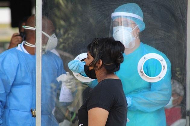 Panamá suma 17.542 casos activos en 266 días de pandemia. Foto cortesía Minsa